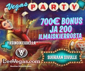 Leo Vegas 200 Free Spins + 200% Bonus